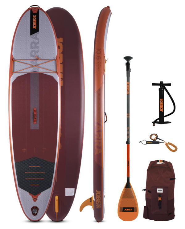 Jobe Aero Yarra Sup Board 10.6 Package Red - Promarine