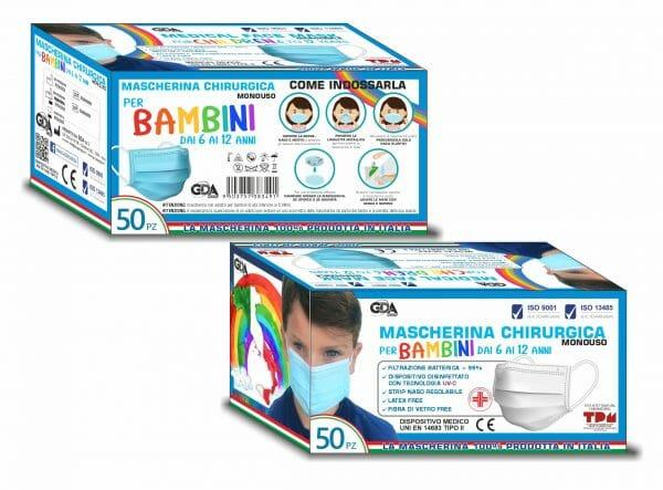 Mascherina Chirurgica Gda-Mask 01 - Promarine