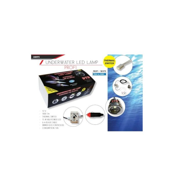 DTD Underwater Led Lamp Profi White - Promarine