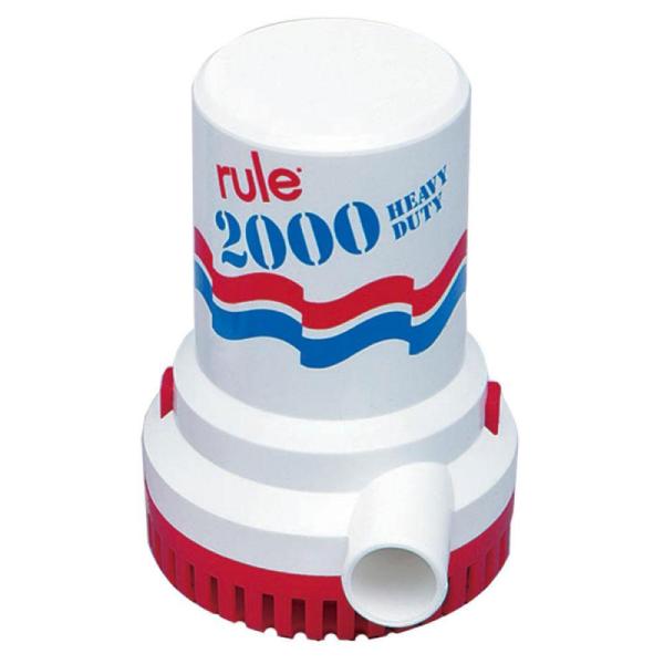 Rule Pompa Immersione 2000 GPH - Promarine
