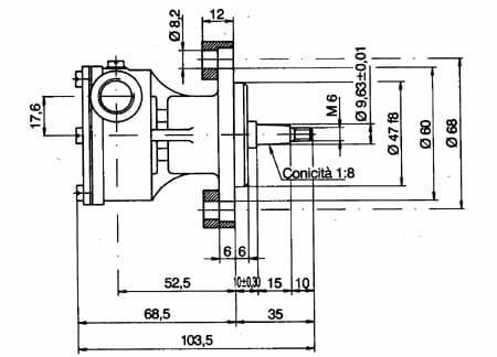 Ancor Pompa Raffreddamento Motore ST139 - Promarine