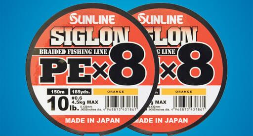 Sunline Monofilo Trecciato Siglon PEx8 - Promarine
