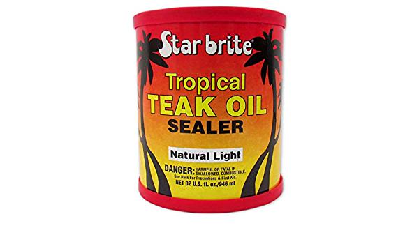 Star brite Tropical Teak Oil Sealer - Promarine